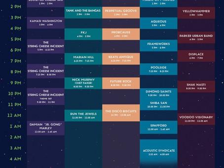 Suwannee Hulaween 2017 Schedule