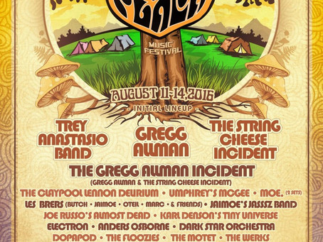 Peach Music Festival Announces 2016 Lineup: Trey Band, Greg Allman Incident, Umphrey's, moe.,