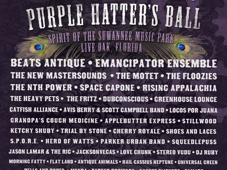 Purple Hatters Ball Adds the Motet, Floozies and more.