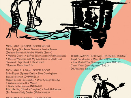 The HUM returns to NYC with five May dates and incredible collaborations