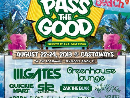 PASS THE GOOD FESTIVAL: ill.Gates, Greenhouse Lounge, Sir Charles + more in Pensacola, FL