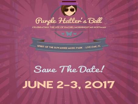 Purple Hatters Ball 2017 Dates