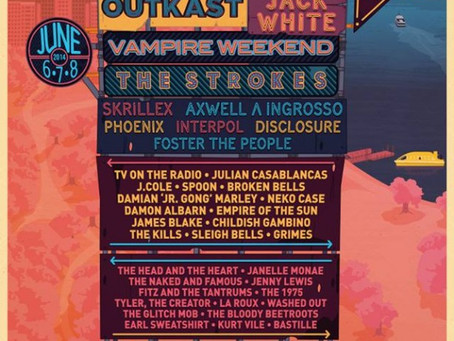 Governors Ball Announces 2014 Lineup: Outkast, Vampire Weekend, Skrillex, Disclosure…