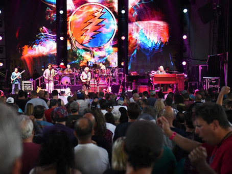 Dead & Company kicks the week off with a BANG at SPAC on Monday