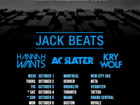 AC Slater Curates Night Bass Tour w/ Jack Beats + more