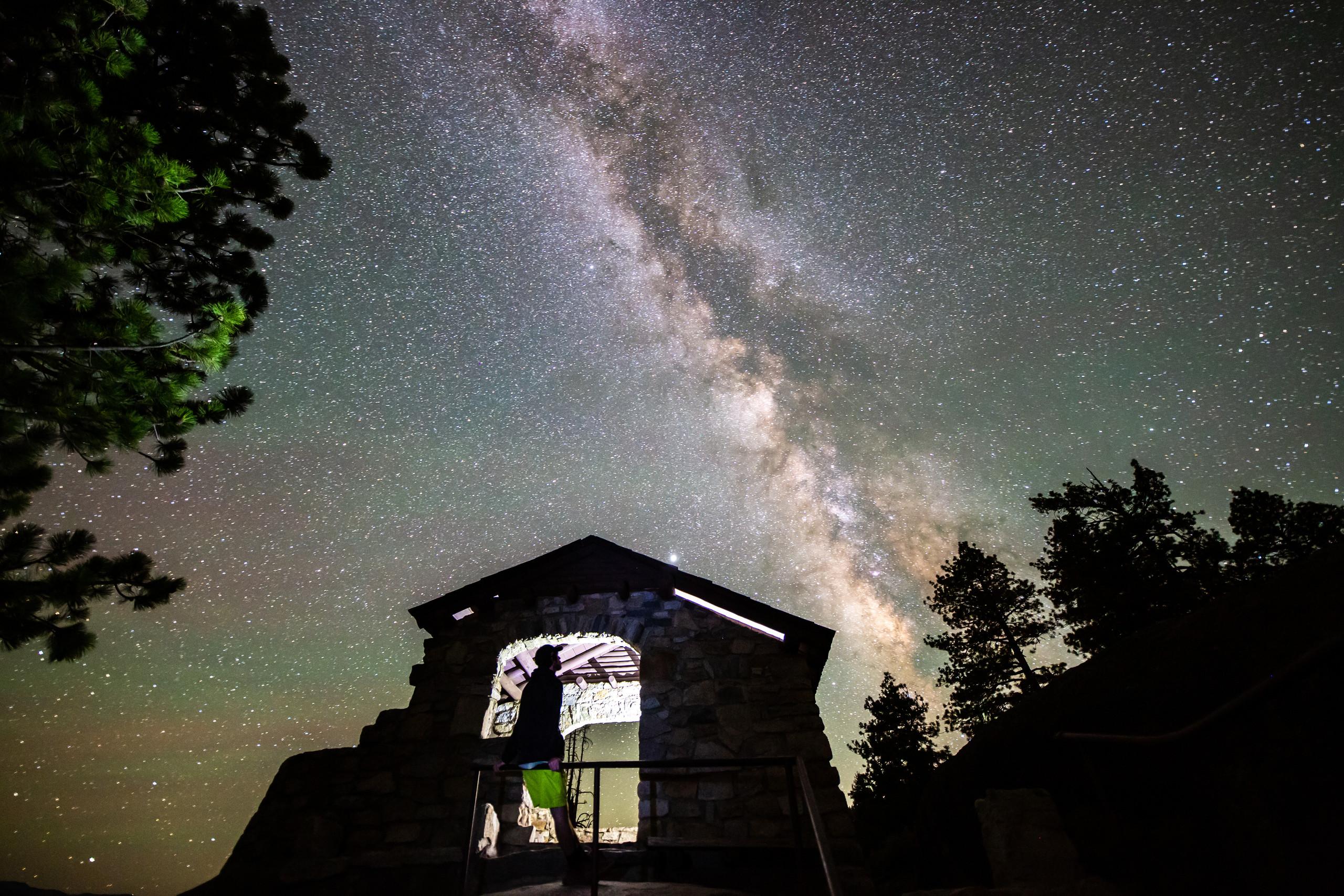 Milky Way Yosemite