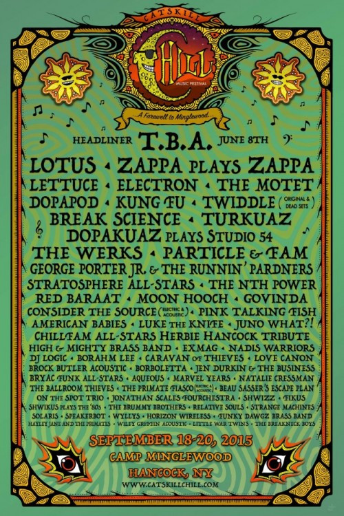 chill lineup