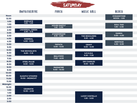 FESTIVAL PREVIEW: Blackwater Schedule is Prepped for Party
