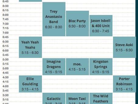 Hangout Festival Announces 2013 Daily Schedule