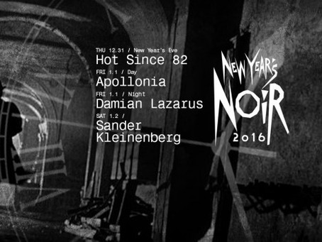 PREVIEW: Verboten Announces New Year's Events Featuring Hot Since 82, Apollonia, Damian Lazaru