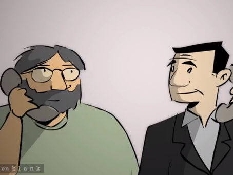 1988 Jerry Garcia Interview Gets Animated