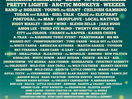 Firefly Music Festival Releases Schedule