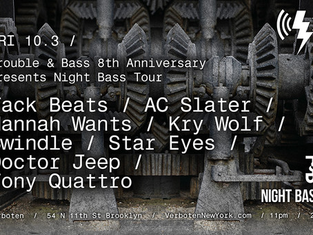 Night Bass Tour Hitting Brooklyn This Friday