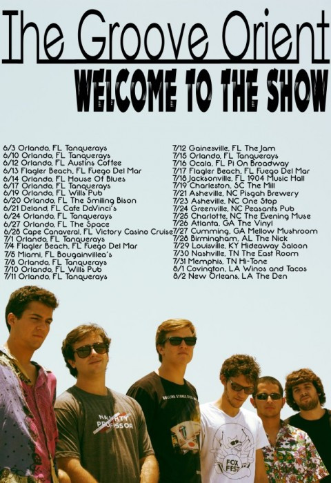 The Groove Orient Summer Tour