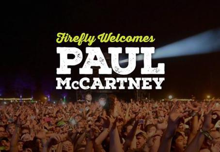 Firefly Music Festival Announces Final Headliner: Paul McCartney