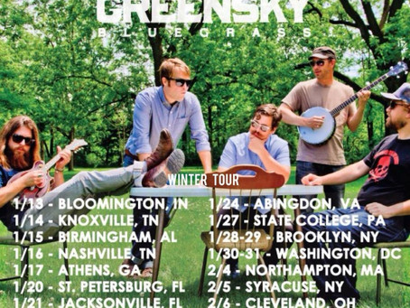 Greensky Bluegrass Announce 2015 Tour, Hitting FL & NY