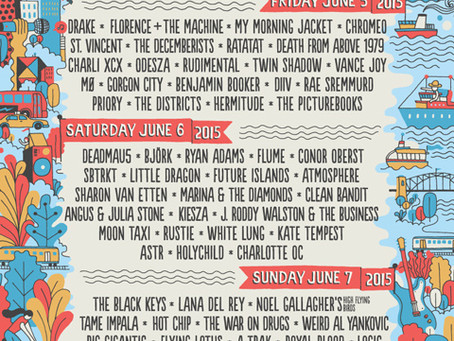 Governors Ball Announces Daily Lineups