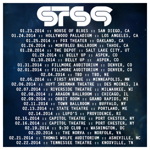 sts9 2014 tour