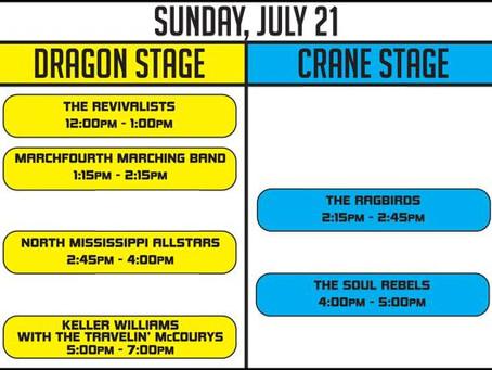 All Good Festival 2013 Artist Schedule