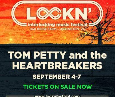 Lockn' Add Tom Petty to an Already Steller Lineup