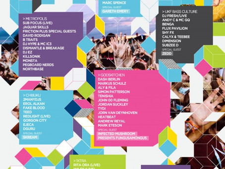 Summer Festival: Global Gathering 2013 + Phase 1 Lineup
