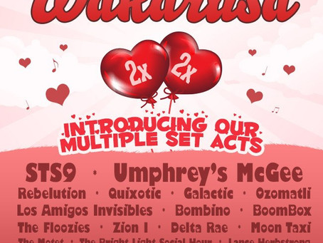 Wakarusa Proves That Valentine's Day Doesn't Suck – Double Sets From…