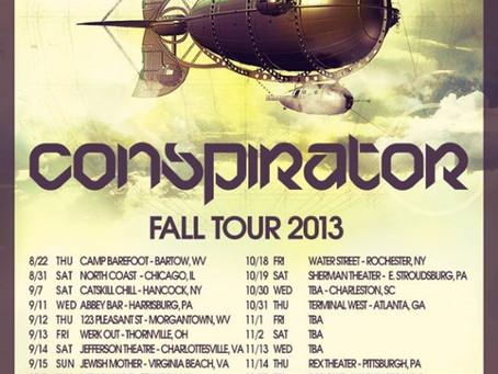 Conspirator Announces Fall Tour