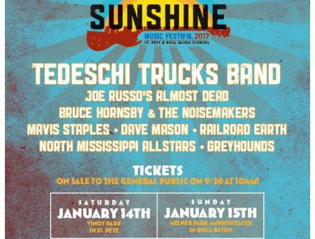 FESTIVAL PREVIEW: Sunshine Music Festival in South Florida