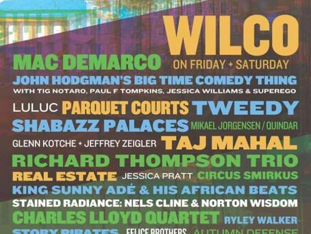 Wilco Announces Solid Sound 2015 Lineup: 2 nights of Wilco + Mac Demarco, Real Estate, Cibo Matto, T