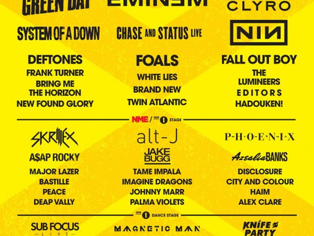 Reading Festival 2013 Lineup