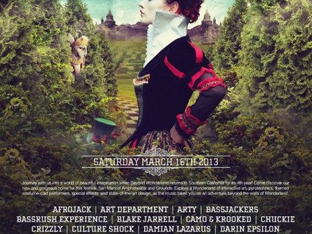 Beyond Wonderland 2013 Announces Lineup, Tickets and More