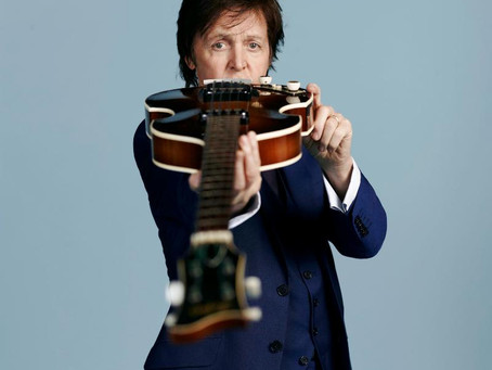"NEW MUSIC: Paul McCartney's ""New"" // Full-length album out October 14"