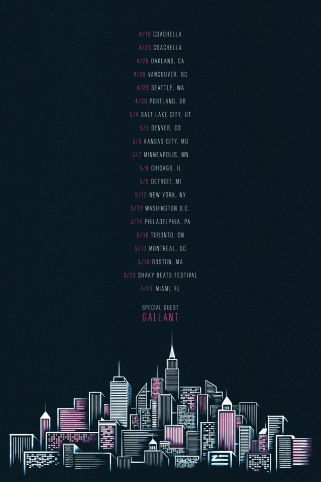 zhu tour dates