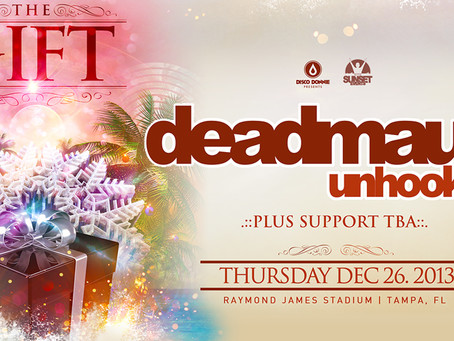 "Deadmau5 Becomes ""Unhooked"" in Tampa on December 26th"