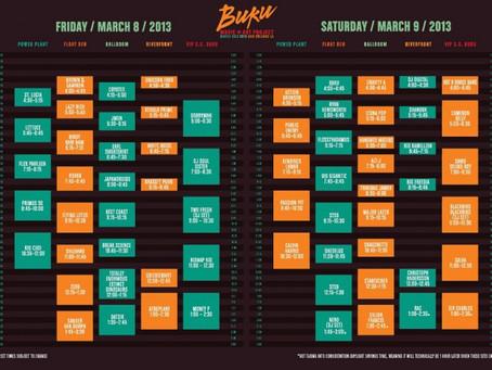 BUKU Preview: Set Times