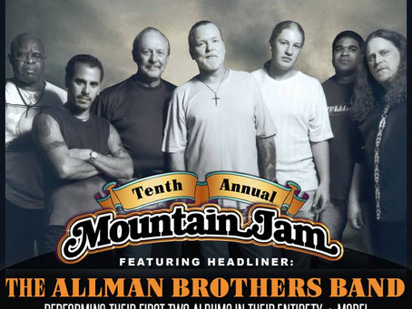 Mountain Jam Adds Allman Brothers Band