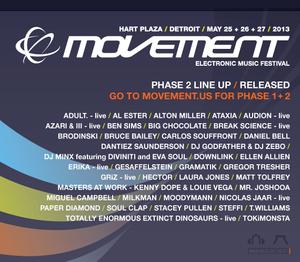movement lineup