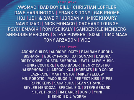 Wavefront Announces Third Wave of Artists