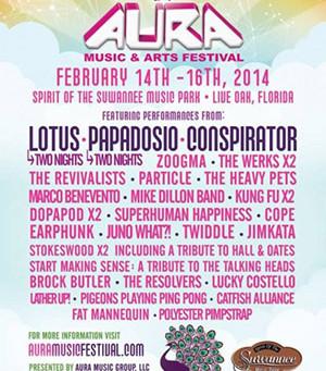 AURA Music & Arts Festival Announces Schedule
