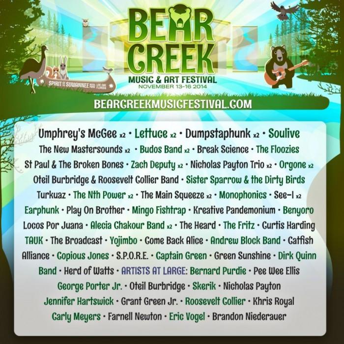 Bear Creek 2014_Flier