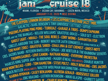 Jam Cruise Announces 2020 Lineup