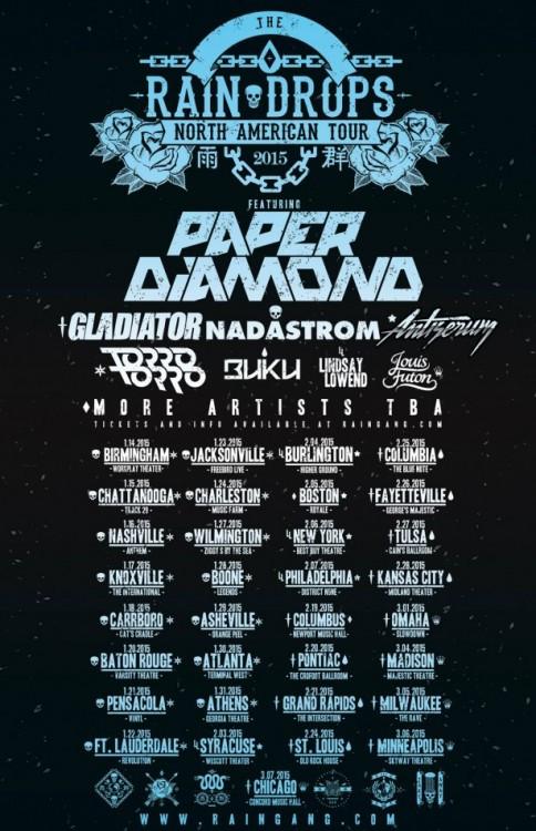 paper diamond tour