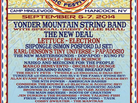 Catskill Chill Announces 2014 Lineup: Yonder, Lettuce, Electron, Shpongle