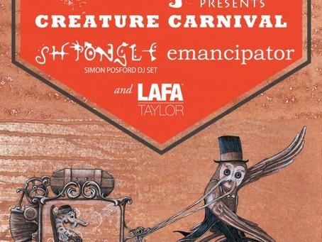 Beats Antique's Creature Carnival Tour w/ Emancipator & Shpongle