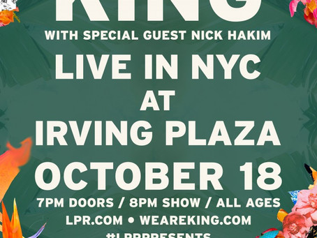 SHOW PREVIEW: KING Bringing Soulful R&B to Irving Plaza on October 18