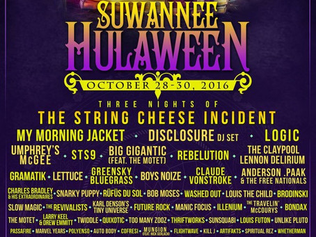 Suwannee Hulaween Adds Claude VonStroke, Brodinski, Washed Out, Twiddle +more