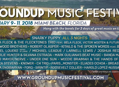 Snarky Puppy's GroundUP Festival Announces Second Annual Lineup!