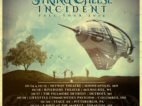 String Cheese Incident Announce Fall Tour, Including 2 Nights In NYC
