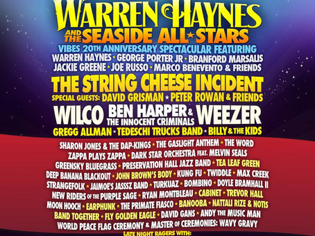 Gathering of the Vibes Adds Warren Haynes and the Seaside All-Stars!