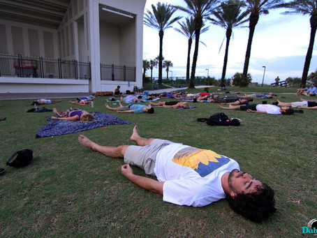 AURA Yoga & Meditation Director Talks About His Goals and Wishes for the Program